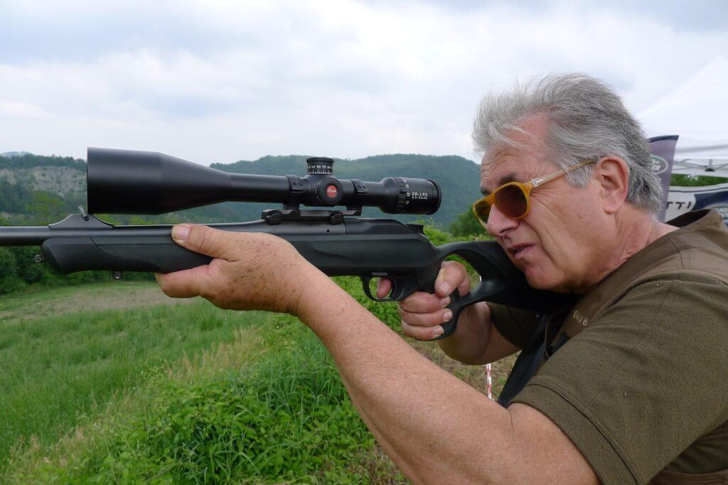 Giancarlo Bodecchi, Campione Italiano di Tiro Combinato Senior, caccia e tira con LRS