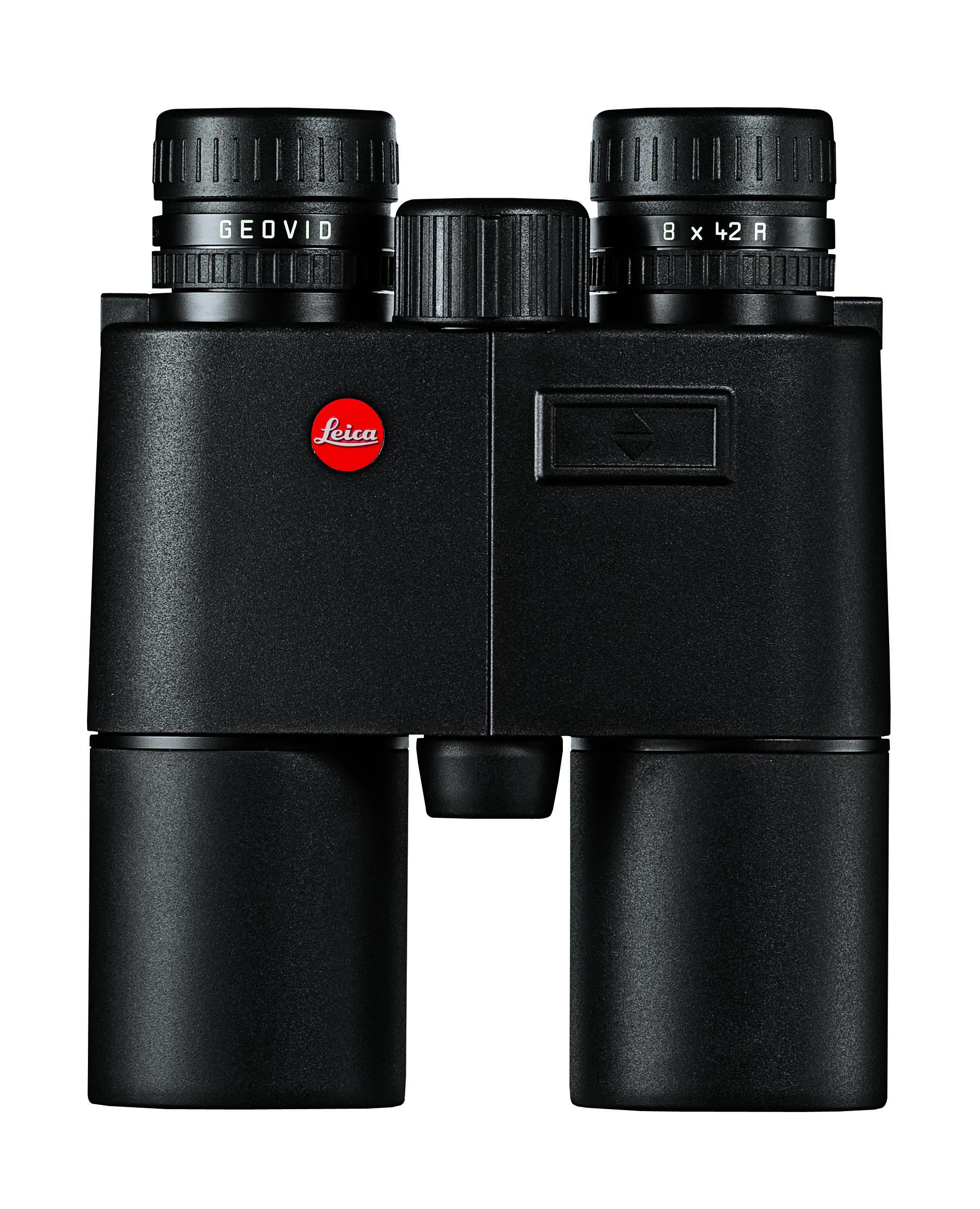 Il Geovid 8x42 R di Leica ha lenti HD, meccanica molto robusta, e funzione di misurazione della distanza compensata con angolo di sito fino alla distanza record di 1100 metri. Prezzo 1795 euro.