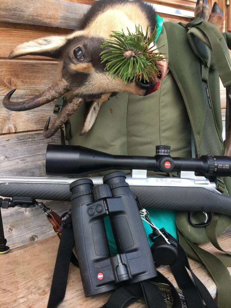 La carabina DBG che trionfa nel circuito del Nord Est è perfetta anche per cacciare