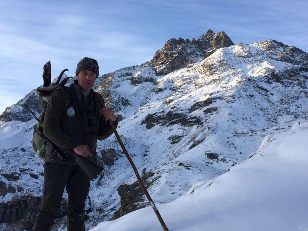 Luca Chatrian, anima del Trofeo Monte Cervino, caccia con LRS