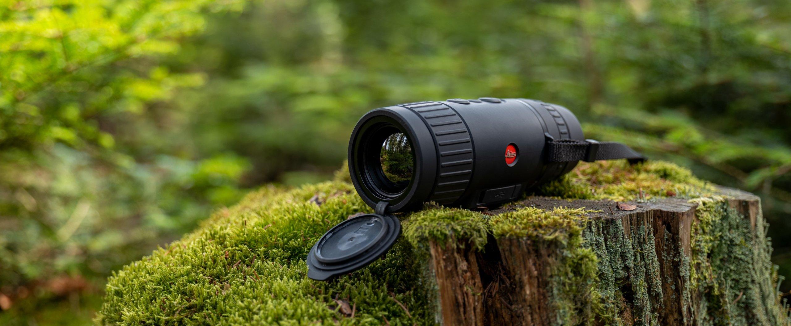 Il nuovo visore termico da osservazione Leica Calonox View. Fa anche foto e video, ma non può in alcun modo essere montato su un'arma.