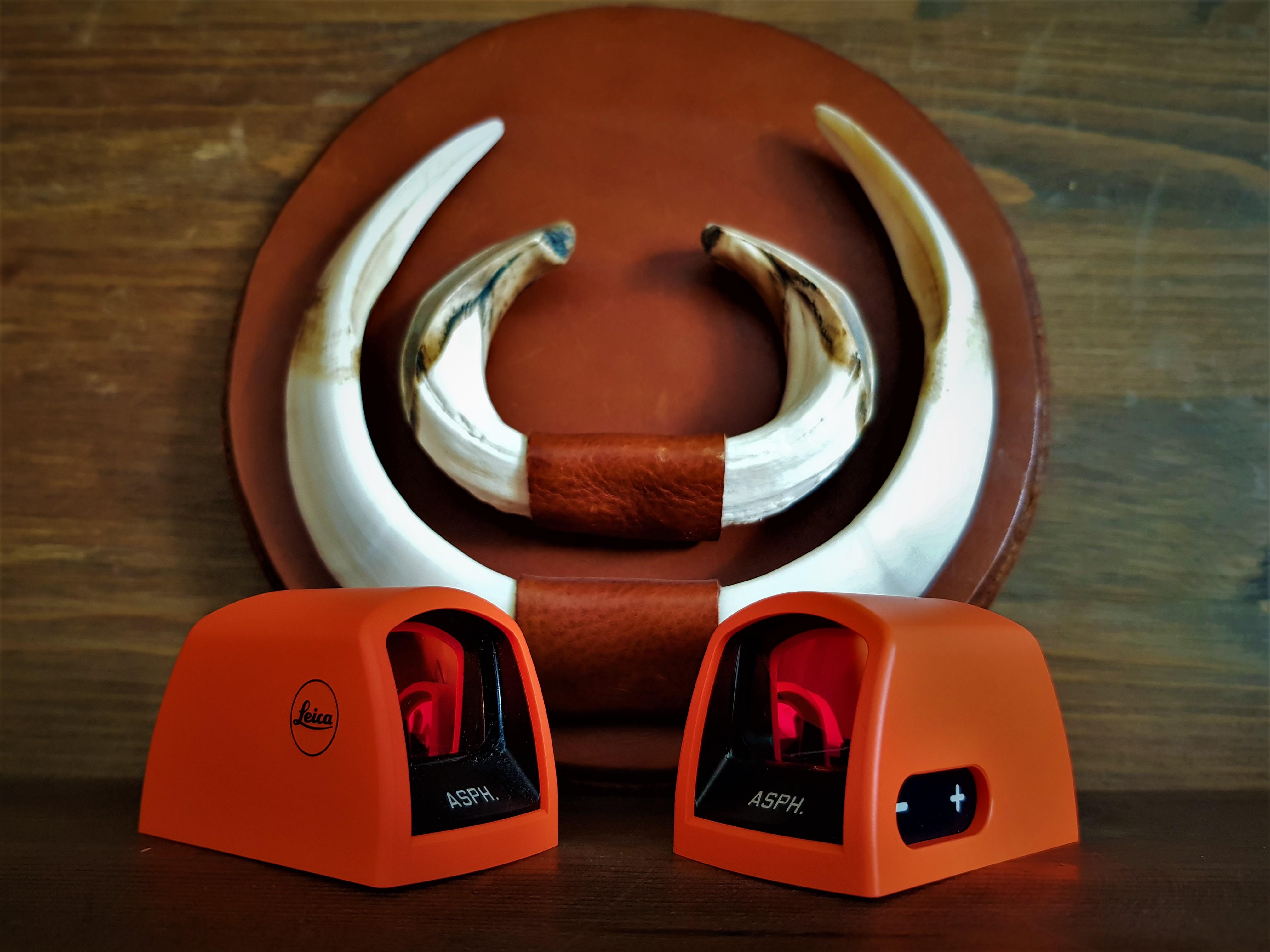 Orange Cap Leica Tempus ASPH cappuccio arancione