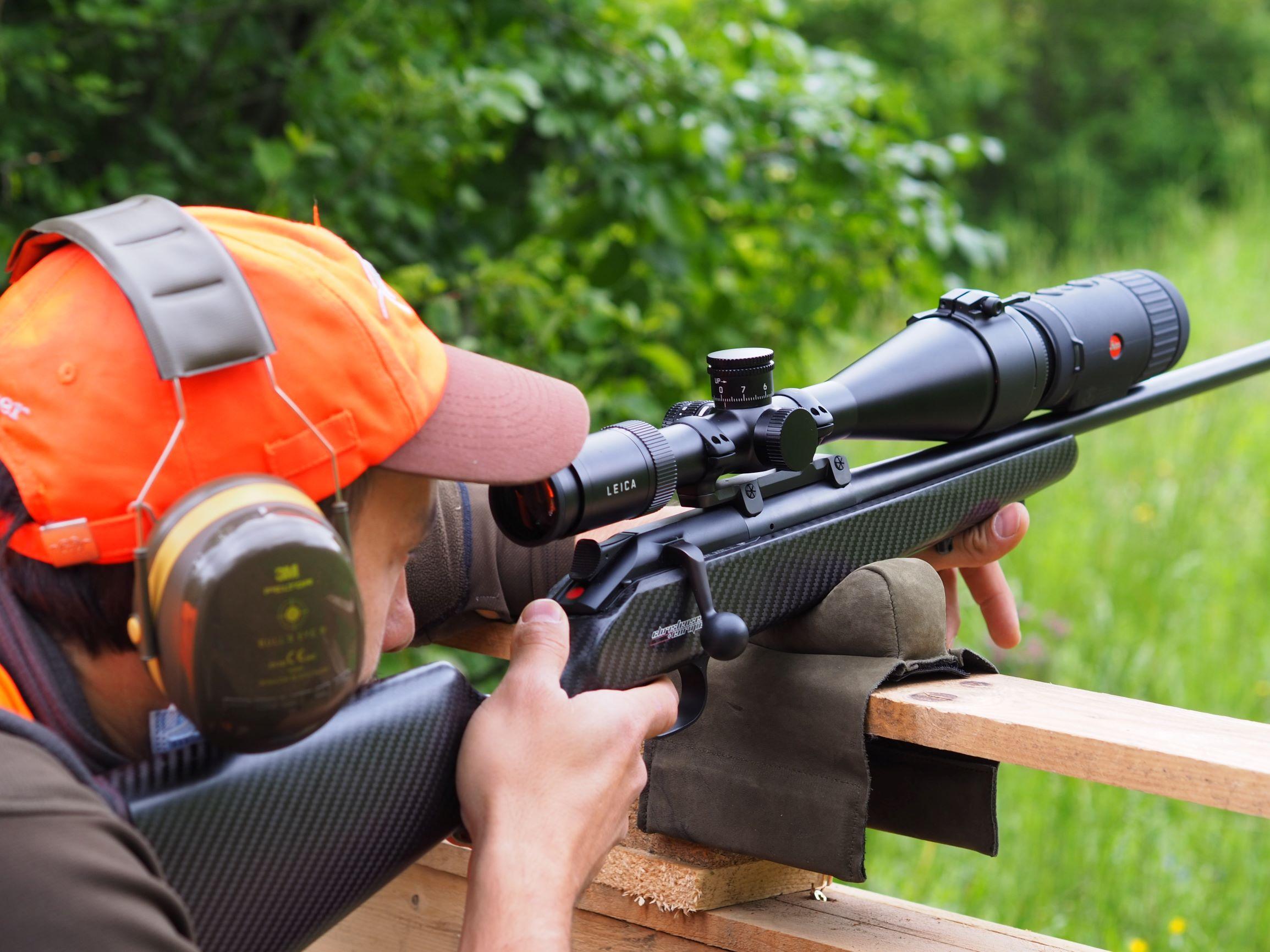 calonox sight prova di tiro
